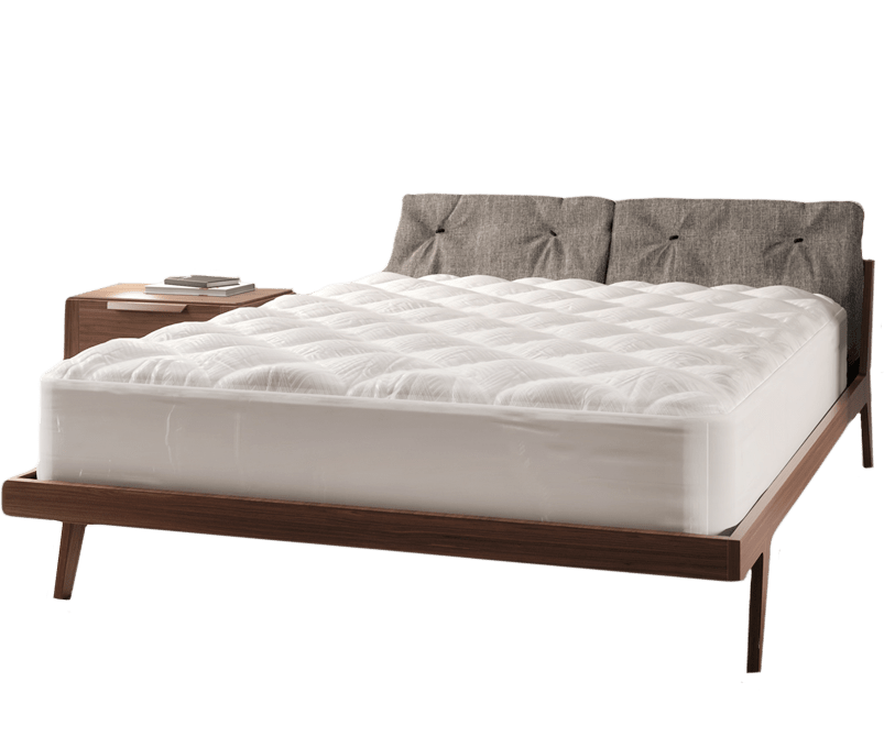 mattress with pad protector