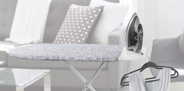 Compact ironing boards are perfect for small spaces