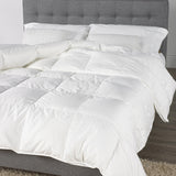 Huttrite White Goose Down Luxury Duvet
