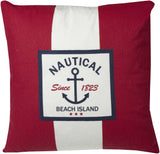 "Nautical 20x20""-Feather Filled"