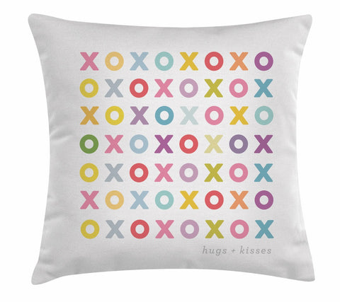 "Ls Xoxo 18x18""-Polyester Filled"