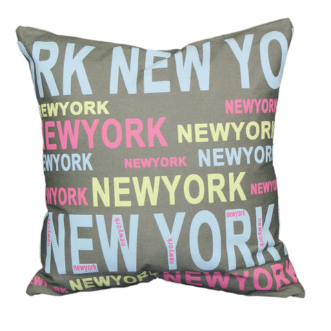 "New York Colours 18x18""- Feather Filled"