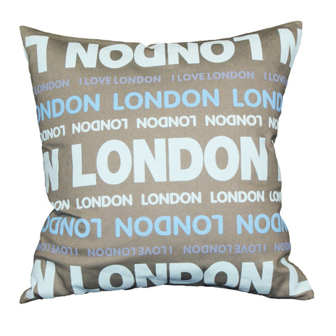 "London Colours 18x18""- Feather Filled"