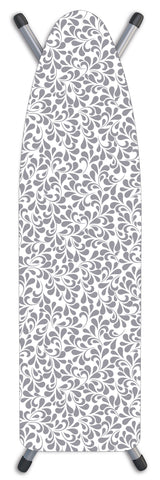"Deluxe Extra-Thick Ironing Board Cover 15x54"" - Chrysanthemum Grey"