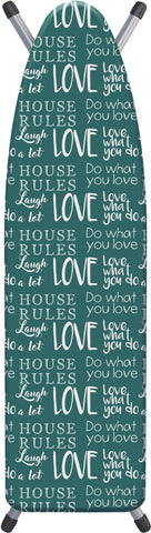 "Deluxe Extra-Thick Ironing Board Cover 15x54"" - House Rules"