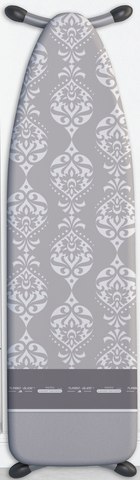 European Ironing Board Cover - Intricate Grey