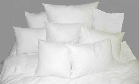 White Goose Feather Cushion Insert