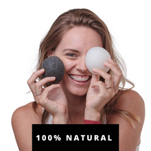 Load image into Gallery viewer, CHARCOAL KONJAC FACIAL SPONGE