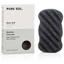 Load image into Gallery viewer, CHARCOAL KONJAC BODY SPONGE