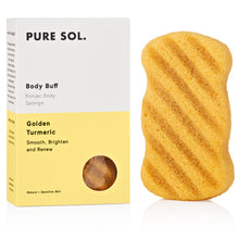 Load image into Gallery viewer, TURMERIC KONJAC BODY SPONGE
