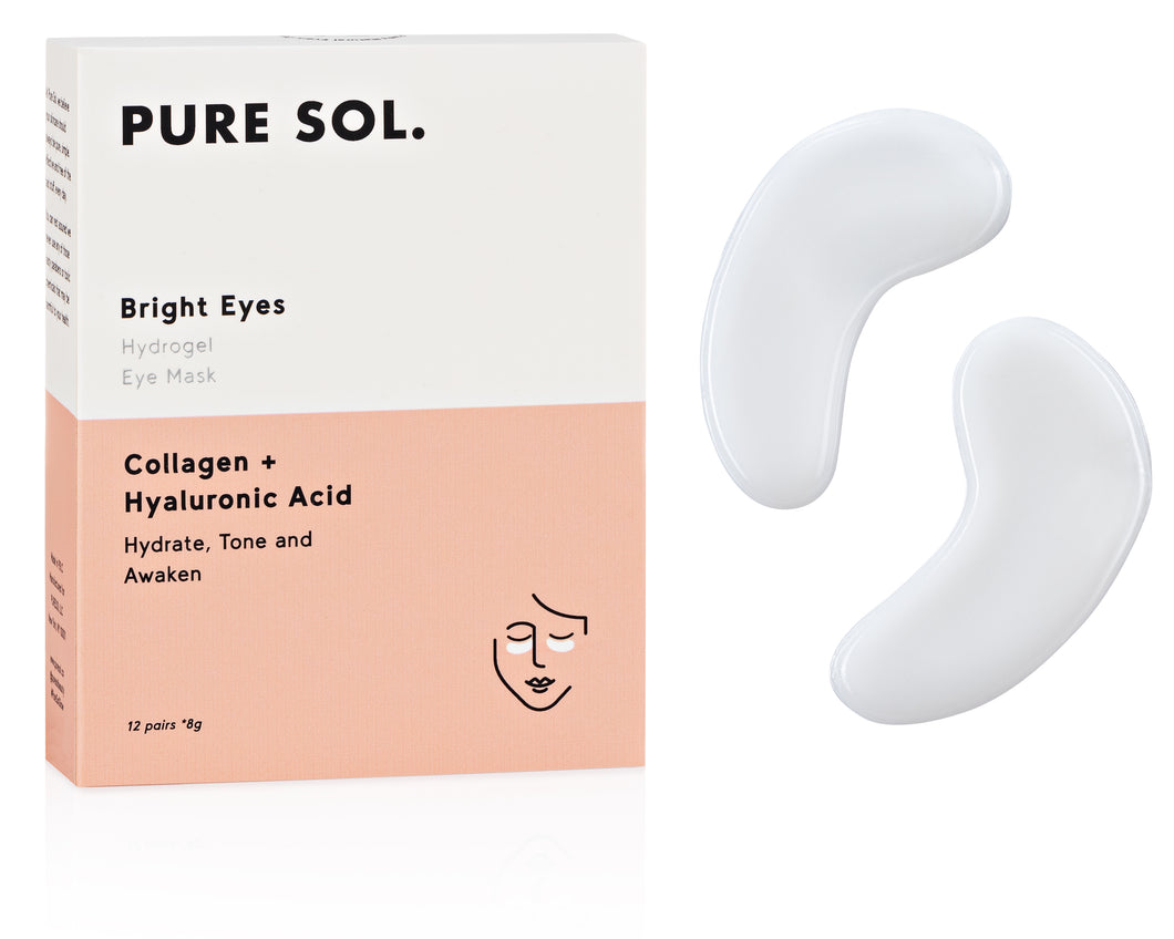Bright Eyes Collagen Hydrogel Eye Mask