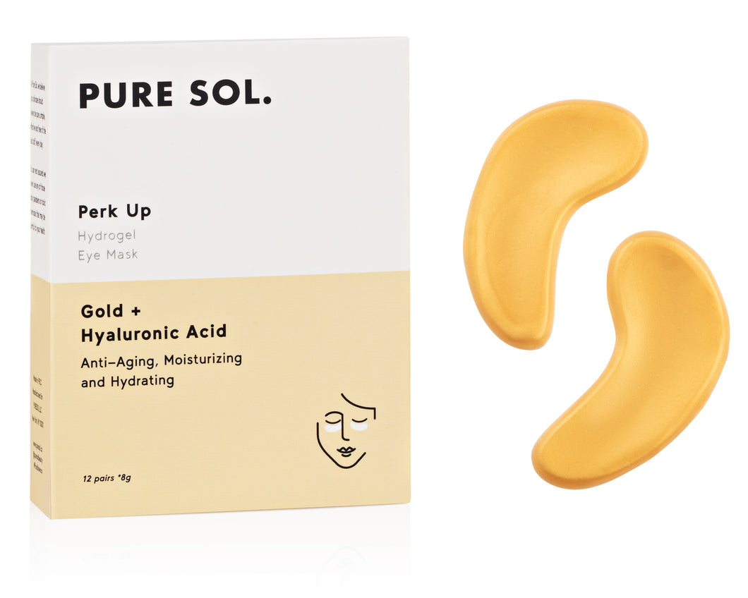 Perk Up Gold Eye Mask