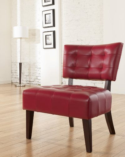 Signature Design by Ashley Scarlett Red Showood Accent Chair – TradeDeal 255ce4ff2bb83