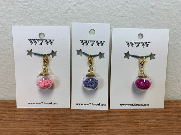 Star Globe Stitch Markers