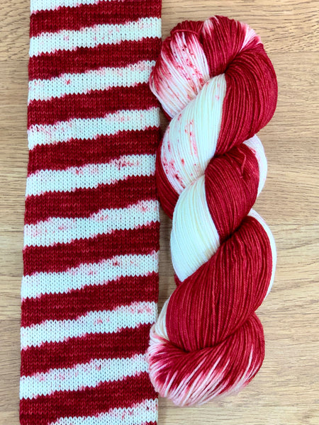 West 7th Wool - Candy Cane Sock Kit