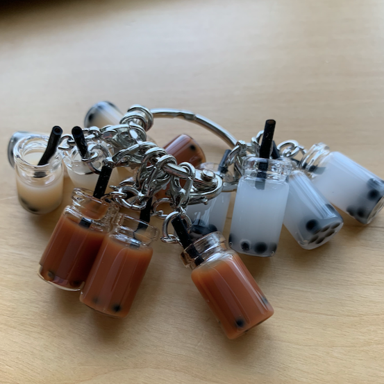 Boba Tea Stitch Markers