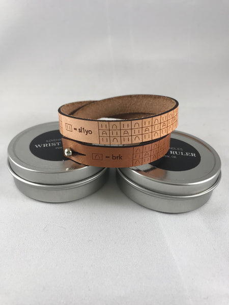 Wrist Ruler - Leather