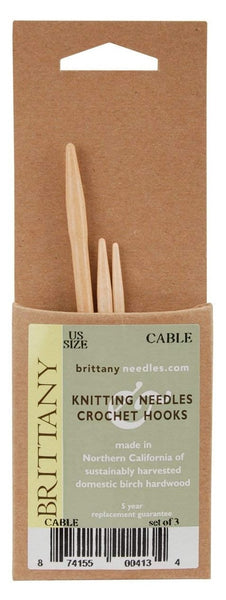 Brittany - Birch Cable Needles