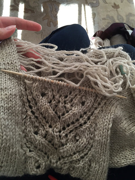 Fixing Mistakes in Knitting Class