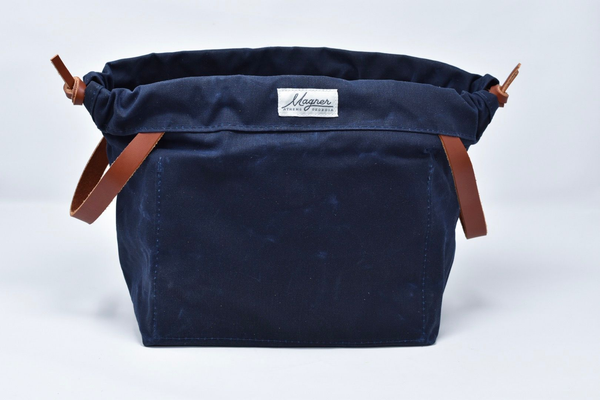 Magner Co. - Knitty Gritty Waxed Canvas Project Bag