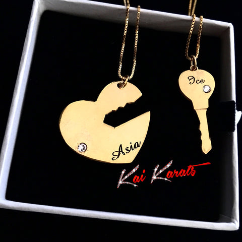 Karats Key To My Heart (Gold)