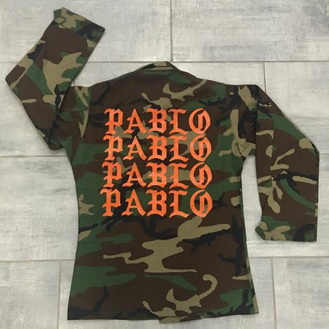 Pablo Orange Jacket