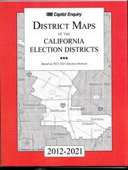"District Map Book - 8½""x11"" B&W Maps California"