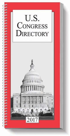 2017 US Congress Directory - Entire Congress including New York