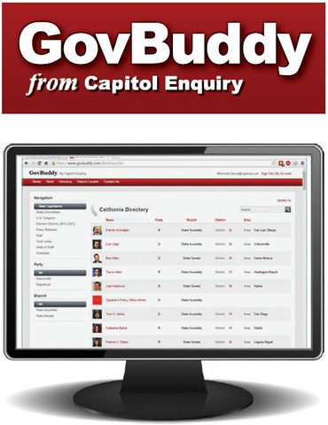 "California ""GovBuddy"" Web Access & App - CA"