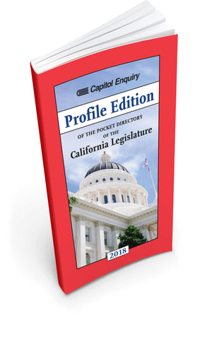 "2018 ""Profile Edition"" Pocket Directory of the California Legislature"