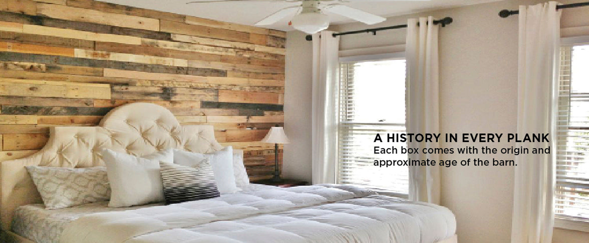 Reclaimed Wood for your home