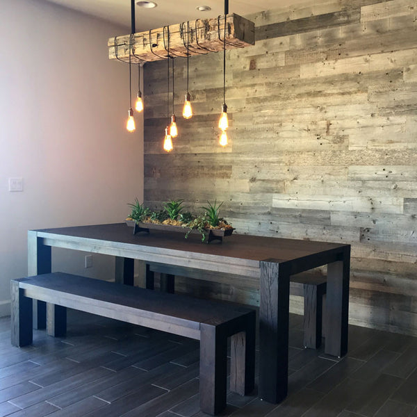 DYI Reclaimed Wood Wall Paneling - Reclaimed Wood Wall DIY Panels By RECwood Planks RECwood™ Planks