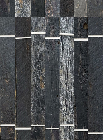 Barn Board - 1X Black Lumber