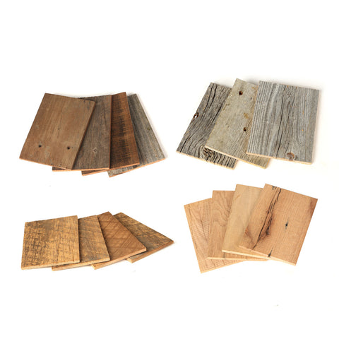 reclaimed wood sample pack