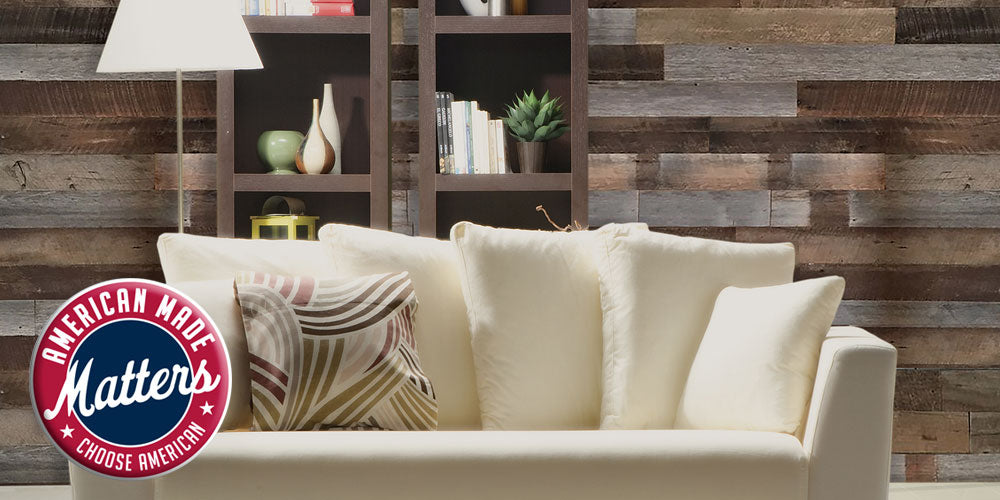 diy reclaimed wood wall paneling