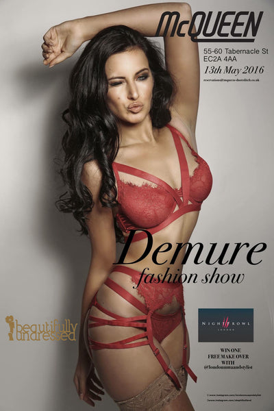 Beautifully Undressed at the Demure Lingerie Fashion Show