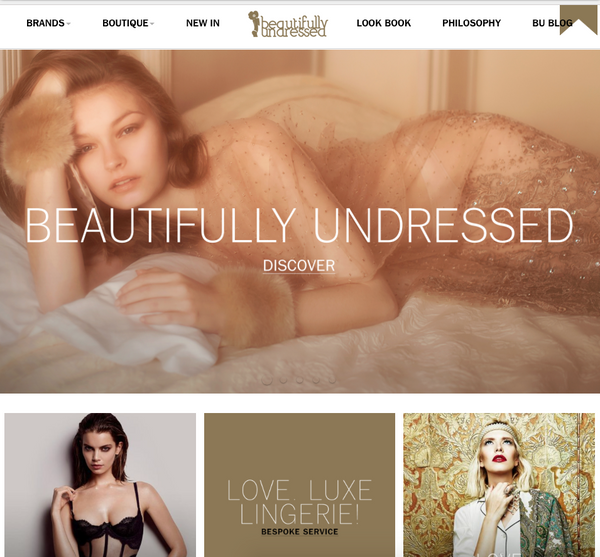 Beautifully Undressed Launch Sleek New Website