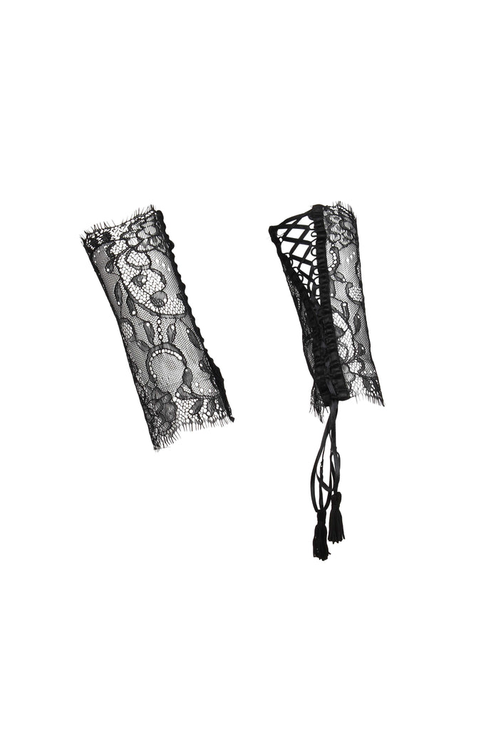 Villa Satine Lace Cuffs