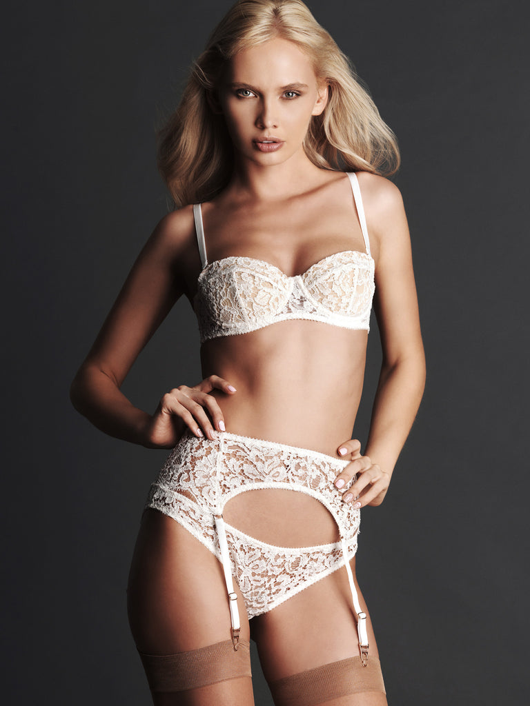 Grace Ivory Suspender