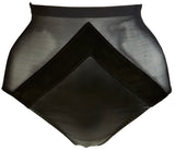 AVA HIGH WAISTED LEATHER BRIEF