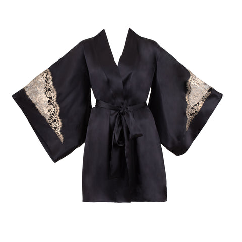 Emma Harris Lingerie Cleo Kimono - Product - Front 2 - beautifullyundressed.com