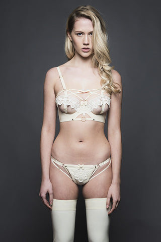 Eleanor Almond Full Cup Bra