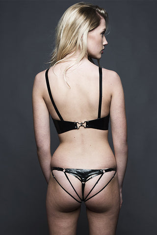 Hecate String Knicker - Black