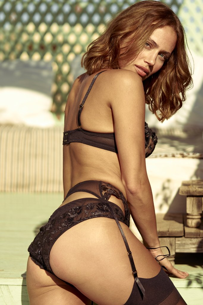 Inamorata London Aster Brief - Model shot back 2 - Beautifullyundressed.com