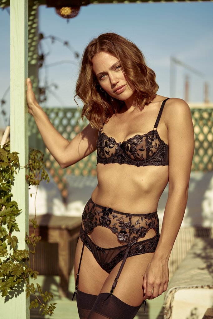 Inamorata London Aster Brief - Model shot 2 - Beautifullyundressed.com