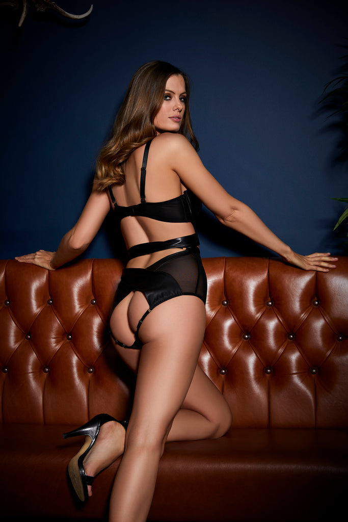 Something Wicked Lexi High Waist Knicker_Campaign back_Beautifully Undressed