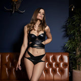 Something Wicked Lexi Balcony Bra - Campaign Shot Front. Beautifully Undressed