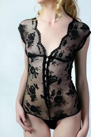 Sonatine Ribbon Bodysuit