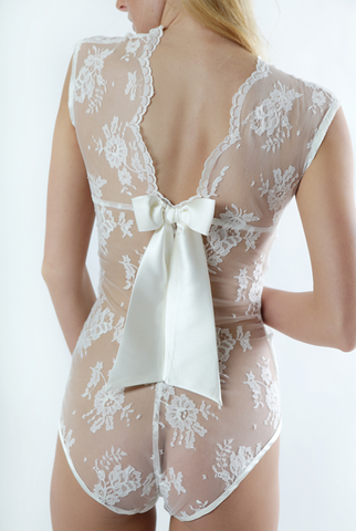 Sonata Rapalyte Aida Ribbon bodysuit - back