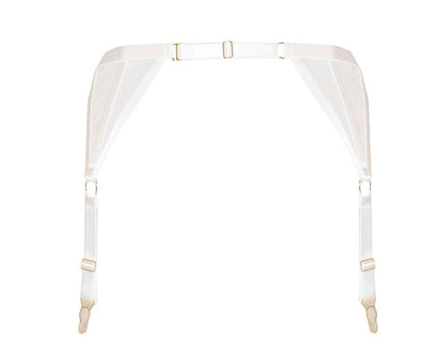 ANNABEL SUSPENDER IVORY & Harness Bra  - PRODUCT  back - beautifullyundressed.com